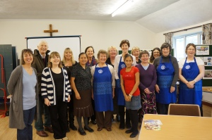 The local Catholic Women's league and our visitors.