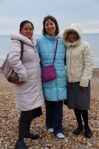 (R to L) Sandra, Sarah and Julia