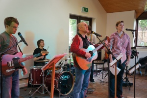 Tony and the Worship Band from St Saviour's