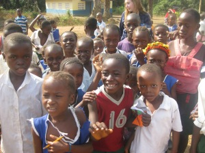 The Primary School in Sierra Leone visited by Eleanor and the other Gap Year Volunteers
