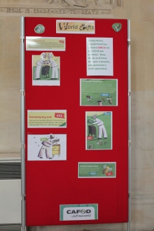 Arundel Cathedral's Bee World Gifts Display