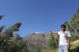 Adan from CAFOD's partners in Peru, CEAS
