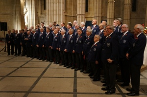 The Weybridge Male Voice Choir in Arundel Cathedral