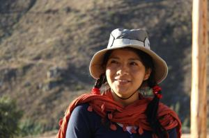 Jesy from CAFOD's partners in Peru, CEAS