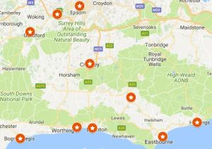 Click to be taken to a map of our upcoming Harvest Briefings