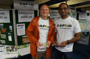 Jon and Pierre, a small part of CAFOD in the Epsom Deanery