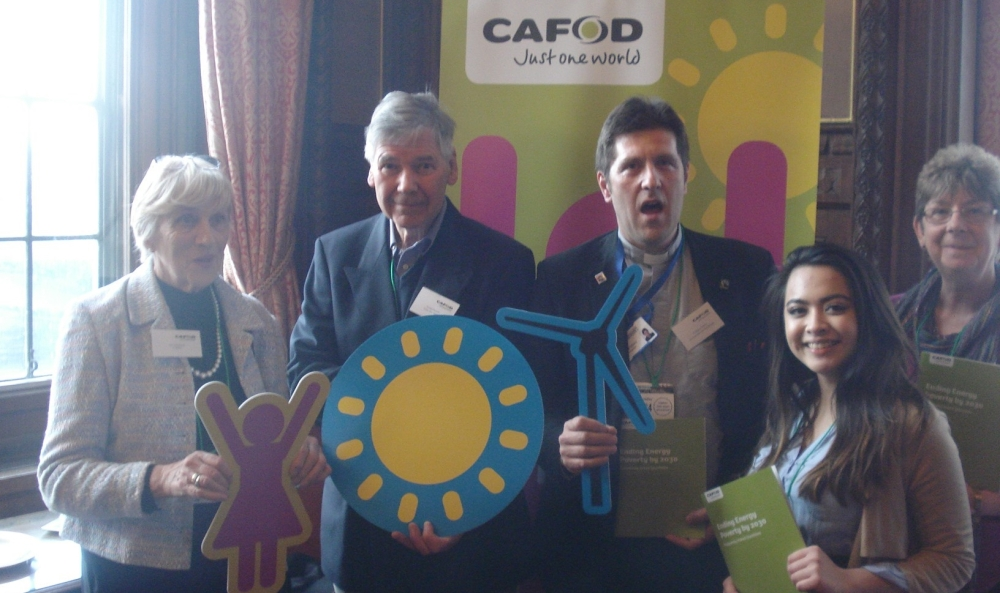 Some of CAFOD's amazing volunteers