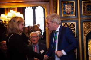 Eleanor with Rt Hon John Bercow MP