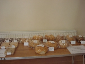 Sale of artisan bread