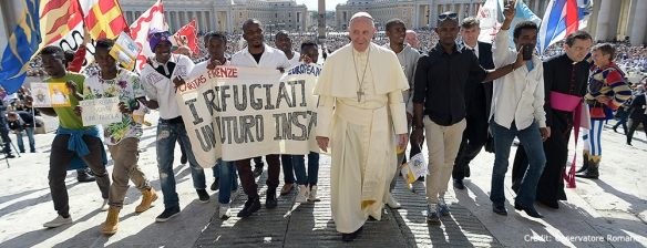 The Pope has a heart for refugees