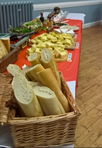 A Harvest of Plenty (of cheese, bread, salad etc).