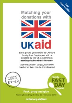 UK Aid Matched Fund Leaflet