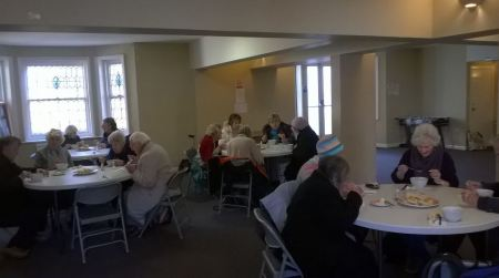 Sacred Heart Soup Lunch