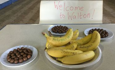 Going bananas for Share the Journey