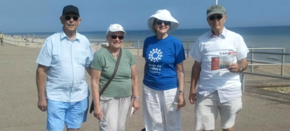 Some of the Bexhill Group STJ Walk
